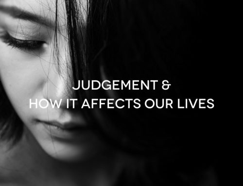 [AUDIO] Judgement And How It Affects Our Lives